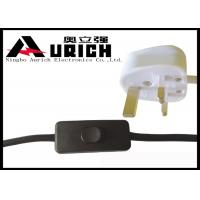 China 13A Britain Head Power Extension Cord Cable UK 3 Pin Plug For Lights Free Sample on sale