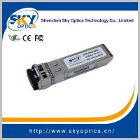 Quality 10Gbps zr sfp+ compatible sfp 1550nm 80km single mode transceivers for sale