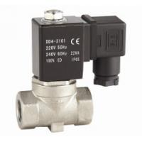 China Mini Diaphragm Solenoid Valve Electric Air Solenoid 12V Stainless Steel on sale