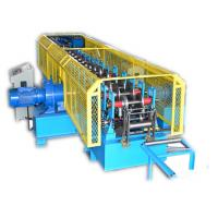 Quality Steel Ladder Cable Tray Making Machine With Hydraulic Cutting Touch Screen for sale