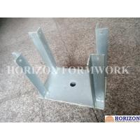China Q235 Steel Plate Concrete Forming Accessories , Galvanized Fork Head for Slab Form Construction on sale
