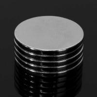 Quality 20mm x 2mm disc Cylinder Magnets Rare Earth Neodymium Magnets Strong Circular magnet  N50 for sale