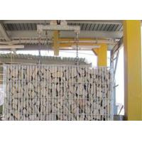Quality Practical Welded Mesh Gabions Baskets , Gabion Mattress Low Carbon Iron Wire for sale