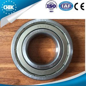 Quality High precision deep groove ball bearings chrome steel single row for sale