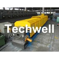 """Quality 3"""" * 3"""" Squared Rainwater Downpipe Roll Forming Machine For Water Pipe, Rain Gutter for sale"""