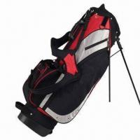 China Golf stand bag, Made of 600D Nylon, Customized Colors Accepted on sale