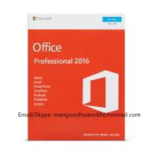 Quality English Professional Office 2016 Retail Box PKC FPP Origianl Key for sale