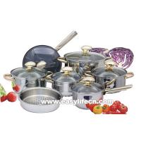 Quality 13PCS JUMBO-LUX STAINLESS STEEL COOKWARE SET,KITCHENWARE for sale