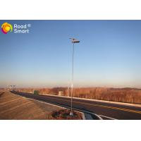 Quality IP65 MPPT Integrated Solar Street Light With High Efficiency Solar Panel 80W for sale
