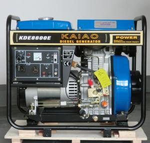 Buy cheap 6KW Diesel Generator Set model KDE8600E KAIAO brand from wholesalers