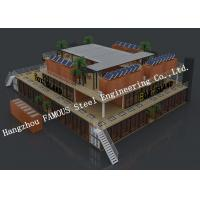 Quality Customized Modular Prefab Container House For Shopping Center or Coffee Bar for sale