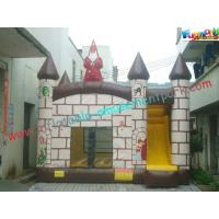 Quality OEM Outdoor Inflatable Bouncer Slide Commercial / Home Use For Kids for sale