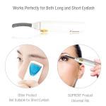 Электрической двойной нагретый стороной макияж Курлер ресницы отсутствие инструмента плетки глаза повреждения завивая