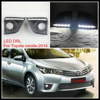 Quality LED DRL LAMP For TOYOTA COROLLA LED DRL AUTO LED daytime running light DRL lamp for sale