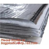 Quality Fire Retardant Thermal Reflective Attic Insulation Aluminum Foil Insulations Roofing Wall for sale