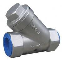 Quality ANSI Stainless steel screw end Y strainer,YS, YS STRAINER 800WOG for sale