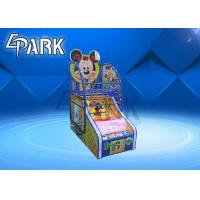 Quality Kids Mickey Electronic Arcade Basketball Game Machine For Shopping Mall for sale