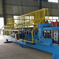 China Customized Steel Z Purlin Roll Forming Machine PLC Control High Performance on sale