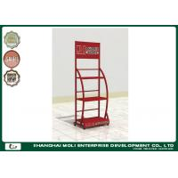 Quality Store Oil Display Rack Lubricant Floor Metal For Supermarket for sale
