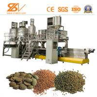 Quality Aquatic Feed Extruder Machine , Fish Feed Processing Machinery SGS Certification for sale