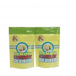 Quality biodegradable smell proof Lemon Cherry Gelato plastic packaging bag for sale