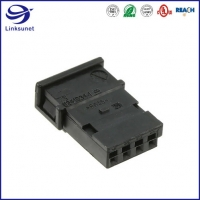 Quality Micro Quadlok Female Socket 2 Row 2.54mm Connectors for Automobile Wire Harness for sale