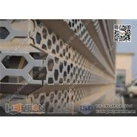 China Perforated Metal Mesh Facades on sale