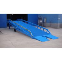 Quality Blue Giant Hydraulic Dock Levelers Adjustable Loading Dock Ramp DCQY20-0.5 for sale