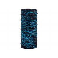 Royal Blue Polyester Tube Buff Multifunctional Headwear 25*50 CM