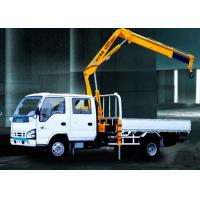 Quality Durable Commercial Knuckle Boom Truck Mounted Crane , 3200kg 6.72 T.M Lifting for sale