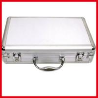 Quality Silver Plastic Briefcase Aluminum Carry Case for sale