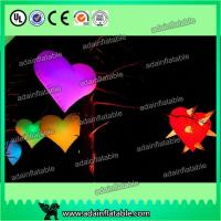 Quality led giant inflatable heart for decoration,Event Party Hanging Decoration Inflatable for sale