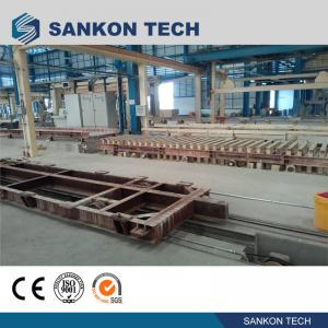 Quality SANKON W600mm Ferry Cart AAC Machine Overturn Table for sale