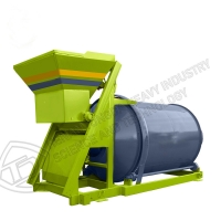Quality Easy To Use BB Fertilizer Blender Organic Fertilizer Horizontal Compost Mixing Equipment for sale