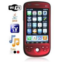 Quality Quad Band Dual Card Dual Standby TV Cell Phone - WiFi + JAVA + Trackball for sale