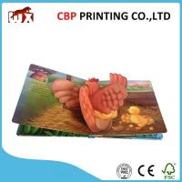 China Coloring Casebound Children Story Books Printing Pop Up Reading Books For Kids on sale