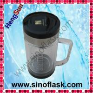 China 12OZ High Grade Borosilicate Glass Crystal Tea Cup on sale