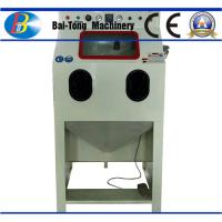 Buy Iron Steel / Plastic Products Industrial Sandblast Cabinet 200kg Net Weight at wholesale prices