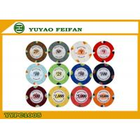 China High Quality 1000 Clay Poker Chips For Supermarket / Chain Shops wholesale