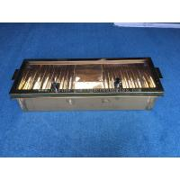 China 10 ROW 40mm  Aluminum Golden Poker Chip Rack Casino Accessories With Cover wholesale