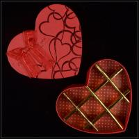 Quality Luxury Hard Fancy Gift Boxes Heart Shaped For Valentines Chocolate And Sweet for sale