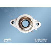 Quality White Plastic Pillow Block Bearings For Auto / Motorcycle / Bicycle SUCFLPL207 for sale