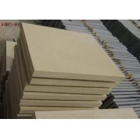 Natural Stone Subway Tile , Interior Yellow Sandstone Wall Tiles For Living Room