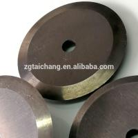Cut-off and crosscut cutting saw blade circular for paper round slitter blades