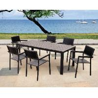 Buy cheap Foshan Outdoor/Garden Furniture - PE Poly Wood Dining Set (BZ-P033) from wholesalers