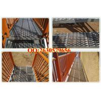 Quality galvanized Anti-skid plate for sidewalk grates for sale