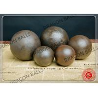 """Quality Dia 1"""" - 8"""" Forged Grinding Balls For Mining Good Wear Resistance for sale"""