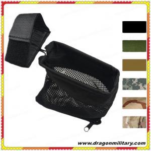 Quality 2017 New design hot sale black tactical Brass Catcher Mesh Bag for sale