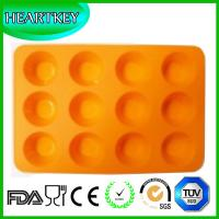 Quality 12-Circle Silicone Mold Candy Chocolate Jelly Cake Cupcake Mold for sale