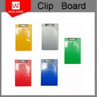 Buy cheap China professional factory OEM office stationery Metal PP plastic clip board from wholesalers